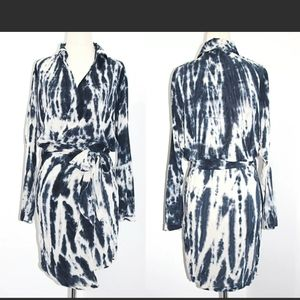 YOUNG FABULOUS & BROKE YFB Tie Dyed Wrap Dress